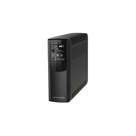 Zasilacz awaryjny UPS Power Walker Line-Interactive CSW 1200VA 8x IEC Out, RJ11/RJ45 In/Out, USB, 2x USB ładowarka
