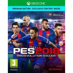 Pro Evolution Soccer 2018 Premium (XBOX ONE)